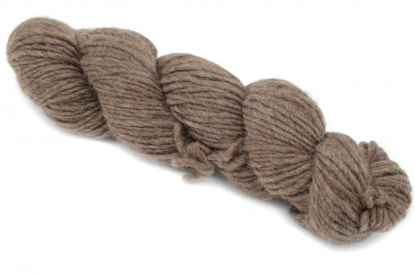 Bluefaced Leicester Roving - Dark Brown
